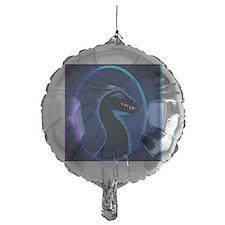 VERTICAL mousepadHorned Black Dragon Balloon