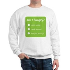 Design - HUNGER CHECK thick text - 10x1 Sweatshirt