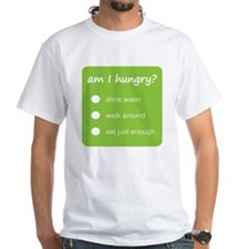 Design - HUNGER CHECK thick text  Shirt