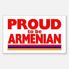PROUD ARMENIAN Rectangle Decal