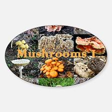 calendar1-mushrooms Decal