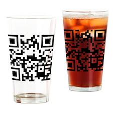 qrcodeFood4Freaks Drinking Glass