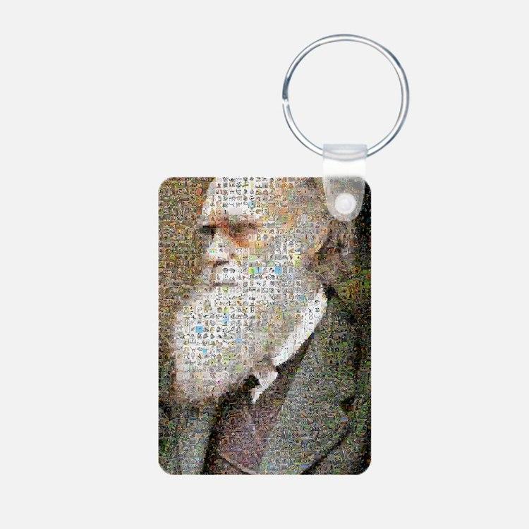 Darwin Primate Mosaic Keychains