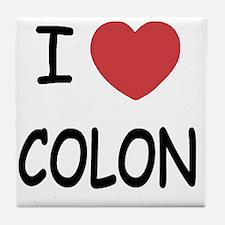 COLON Tile Coaster