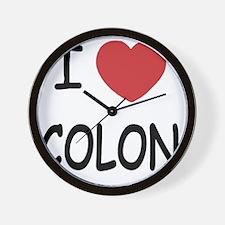 COLON Wall Clock