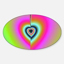 Broken-Heart-Fractal-laptop-skin Decal
