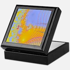 Checkberboard-Network-iPad 2 Keepsake Box