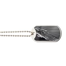 oriskany cv rectanle manet Dog Tags