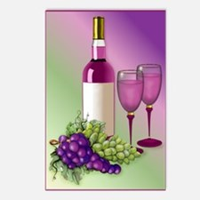 Wine & Grapes Still Life Postcards (Package of 8)