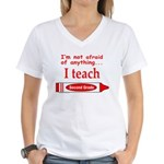 SECOND GRADE Women's V-Neck T-Shirt