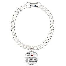Nurse Pride black with r Bracelet