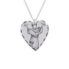 ANCIENT ALIEN Necklace Heart Charm
