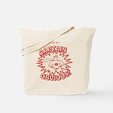 CaptainObviousVintage Tote Bag