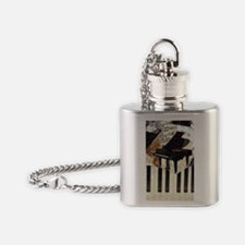 Piano-itouch Flask Necklace