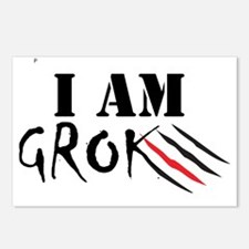 iamgrok Postcards (Package of 8)