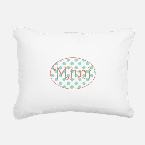 Cute Mimi Rectangular Canvas Pillow