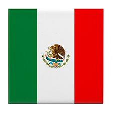 PROUD LATINO (MEXICO) Tile Coaster