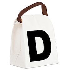 d_arial_l Canvas Lunch Bag