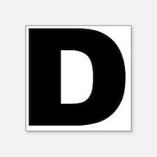 "d_arial_l Square Sticker 3"" x 3"""
