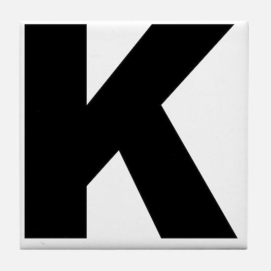 k_arial_l Tile Coaster