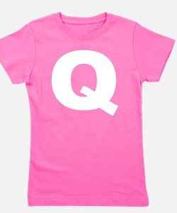 q_arial_d Girl's Tee