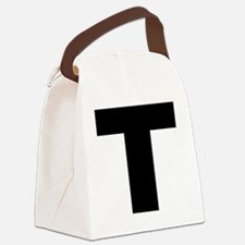 t_arial_l Canvas Lunch Bag