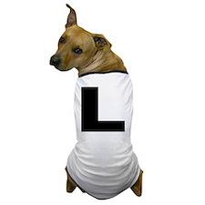 l_arial_d Dog T-Shirt