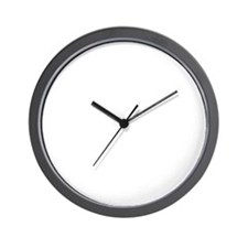o_arial_d Wall Clock