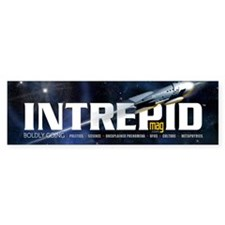Intrepid Mug Bumper Sticker