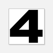 "4_arial_l Square Sticker 3"" x 3"""