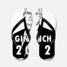 Newt Gingrich2012 Flip Flops