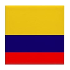 PROUD LATINO (COLOMBIA) Tile Coaster