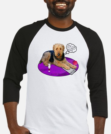 Airedale Valentine's Baseball Jersey