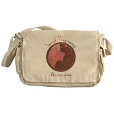 Sacred Pregnancy Messenger Bag