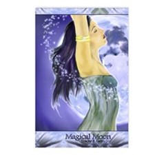 magical moon 5x8_journal Postcards (Package of 8)