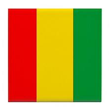 PROUD AFRICAN Tile Coaster