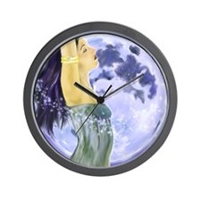 11.5x9_print mag moon Wall Clock
