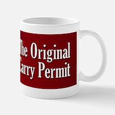 The Original Carry Permit Coffee Mug