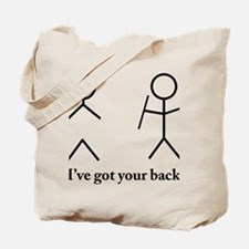 i got your bacvk Tote Bag