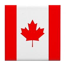 PROUD CANADIAN Tile Coaster