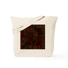 PressedFlowers Tote Bag