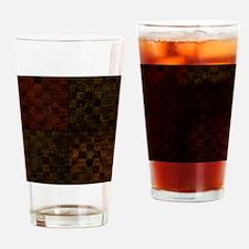BlocksOfInfo Drinking Glass