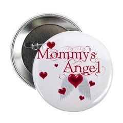 Mommy's Angel Button