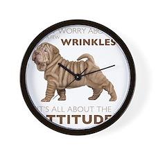 attitude2 Wall Clock