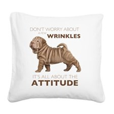 attitude2 Square Canvas Pillow