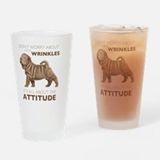 attitude3 Drinking Glass