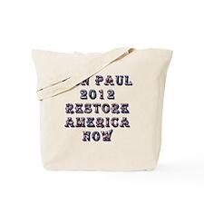 rp_restore_america_now Tote Bag