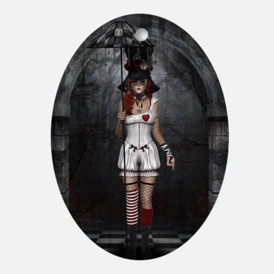 Wonderland Oval Ornament