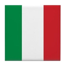 PROUD ITALIAN Tile Coaster