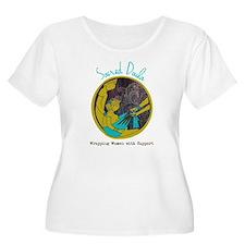 Sacred Doula Plus Size T-Shirt